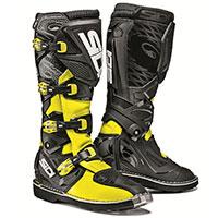 Sidi X-3 Boots Yellow Fluo Black