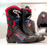 アルパインスターズ Smx 6 V2 ホンダ ブーツ ブラック ブルー レッド