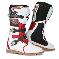 Stylmartin Impact Pro Boots White Red