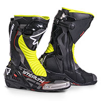 Stylmartin Stealth Evo Black Yellow Fluo