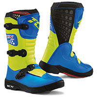 Tcx Comp Kid Blue Fluo Yellow Kid