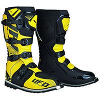 Ufo Avior Boots Black Yellow