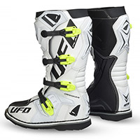 Ufo Obsidian Boots White Yellow