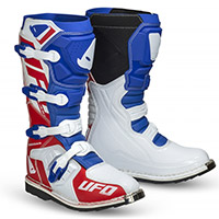 Ufo Obsidian Boots Blue White Red