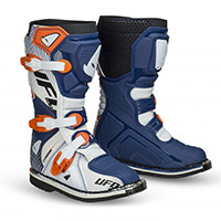 Ufo Typhoon Kid Boots Blue White Kid