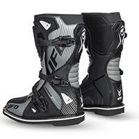 Ufo Typhoon Kid Boots Black Kid
