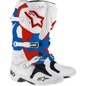 Alpinestars Tech 10 Bianco Rosso Blu