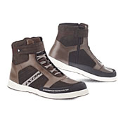 Ixon Touring Shoes Slack Brown White