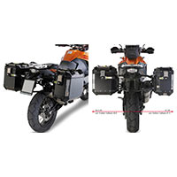 Givi Side Rack For Trekker Outback Ktm 1190 Adventure R