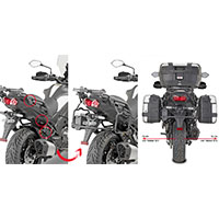 Givi Side Holders Kawasaki Versys 1000