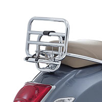 Chromed Rear Rack Vespa