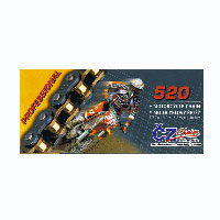 Cz Chain Catena 520 O-ring 125-450 Enduro 120 Maglie