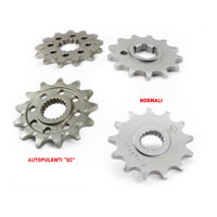 Motocross Marketing STEEL Front Sprockets JT GAS GAS EC 125 - YAMAHA YZ 125 87/04