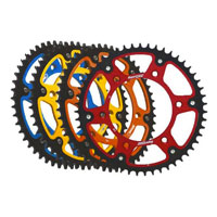 Supersprox Sprockets Aluminium/steel Tm Blue/nero
