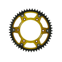 Supersprox Sprockets Alum/steel Kawasaki Kx82/08 Kxf04/16 Gold/nero
