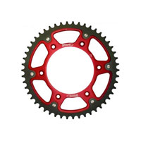 Supersprox Sprockets Aluminium/steel Beta-gasgas-husqvarna Red/black