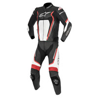 Alpinestars Motegi V2 2pc Leather Suit Black/red/white
