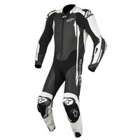 Alpinestars Gp Tech V2 Tuta 1pc Tech Air Compatible Nero - Bianco