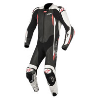 Alpinestars Gp Tech V2 Tuta 1pc Tech Air Compatible Nero - Bianco - Rosso