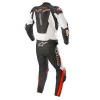 Alpinestars Atem V3 Leather Suit 2pc 2018 White Red
