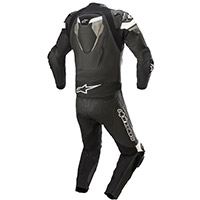 Alpinestars Atem V4 2pc Leather Suit Black Grey