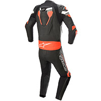 Alpinestars Atem V4 2pc Leather Suit Black Red