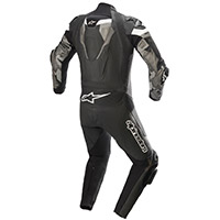 Alpinestars Atem V4 Leather Suit Black Grey