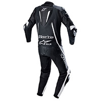 Alpinestars Fusion Leather Suit Black White