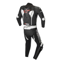 Tuta In Pelle Alpinestars Gp Force Nero Bianco