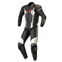 Traje De Cuero Alpinestars Gp Force negro blanco