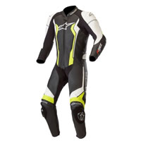 Traje De Cuero Alpinestars Gp Force amarillo