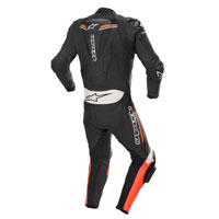 Tuta In Pelle Divisibile Alpinestars Gp Force 2pc Bianco