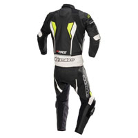 Tuta In Pelle Divisibile Alpinestars Gp Force 2pc Giallo