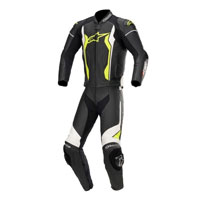 Alpinestars Gp Force 2pc Leather Suit Yellow