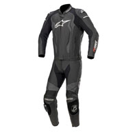 Alpinestars Gp Force 2pc Leather Suit Black