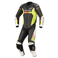 Tuta Alpinestars Gp Force Chaser Nero Giallo Fluo
