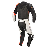 Tuta Alpinestars Gp Force Phantom Nero Rosso Fluo