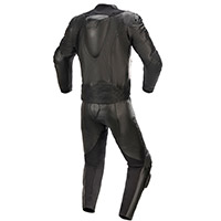 Combinaison 2pc Alpinestars Gp Plus V3 Graphite Noir