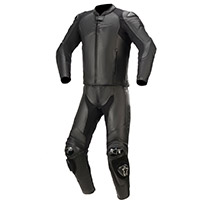 Tuta 2pc Alpinestars Gp Plus V3 Graphite Nero