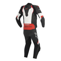 Alpinestars Tuta In Pelle Gp Pro 2pc Bianco