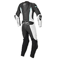 Tuta 1pc Alpinestars Stella Missile Tech-air Teal Donna