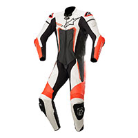 Alpinestars Motegi V3 Suit Black White Red