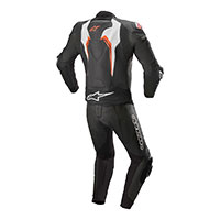 Alpinestars Motegi V3 2pc Suit White Red Fluo
