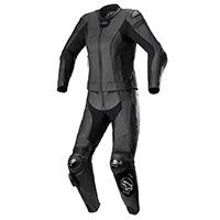 Alpinestars Stella Missile V2 2pc Leather Suit Black Lady