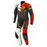 Alpinestars Youth Gp Plus Leather Suit 1 Pc Red Yellow Kid