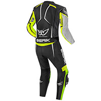Berik Ascari Pro 2pcs Suit Black Yellow Fluo