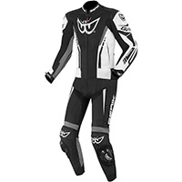 Berik Gp 2.0 2pcs Leather Suit Black White