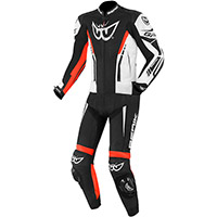 Berik Gp 2.0 2pcs Leather Suit White Red Black