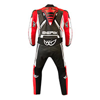 Berik Gp Pro 2.0 Suit Black Red Fluo