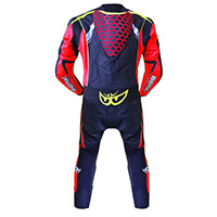 Berik Racing T Suit Red Yellow Fluo